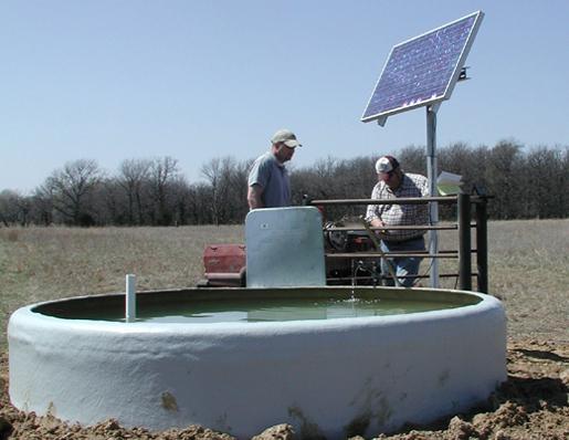 Bombas de extracción de agua para paneles solares