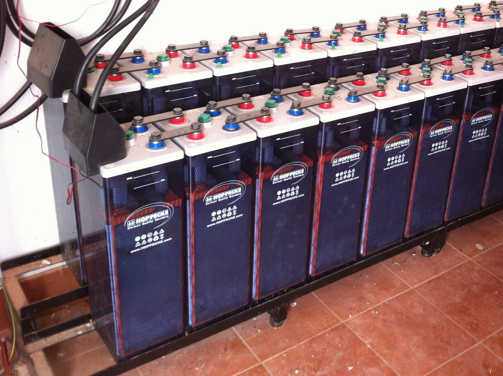 Baterías solares fotovoltaicas